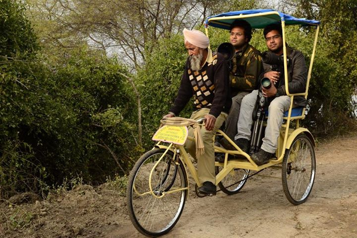 Rickshaw Ride at Bharatpur